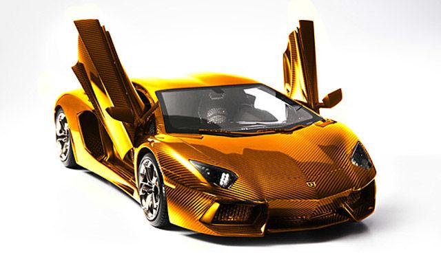zolotaya-Lamborghini Aventador LP 700-4